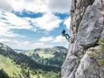 Klettern mit Wallberg-Blick