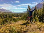 Biken in Banff