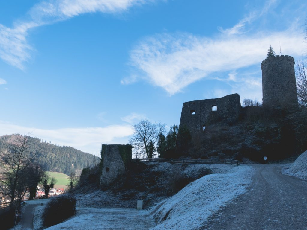 Burg Husen in Hausach