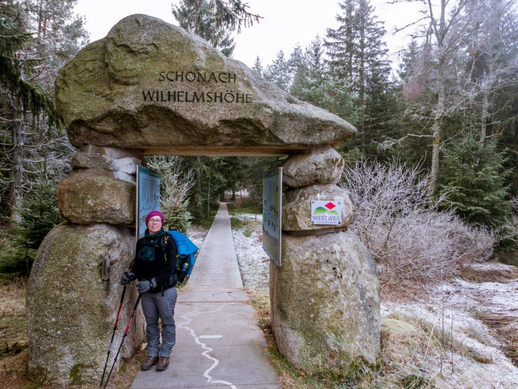 Westweg Portal Wilhelmshöhe